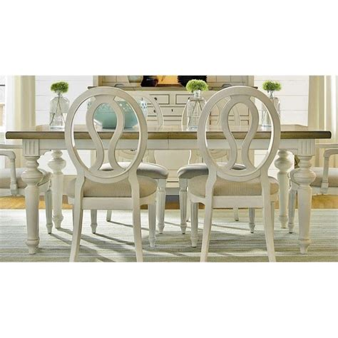 Universal Furniture Dining Table Universal Furniture Summer Hill Dining Table In Cotton 987652