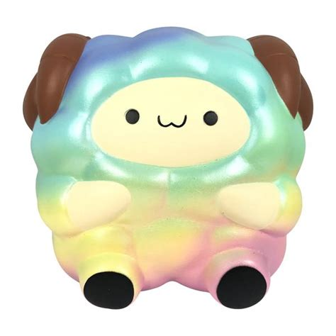 Squishy Purple Poppop Sheep From Pat Pat Zoo Squishy Licensed Origina scented and pop pop sheep now in stardust and