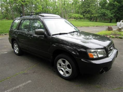 2003 Subaru Forester 2 5xs by Sell Used 2003 Subaru Forester 2 5xs And No Reserve With