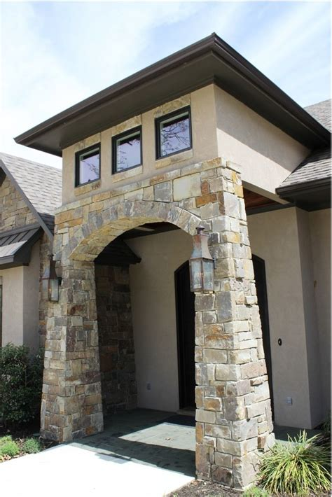 a welcoming entrance to this new custom home in east texas