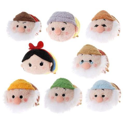 Snow White And The Dwarfs Tsum Tsum Vinyl Figure Original 5set disney store tsum tsum snow white seven