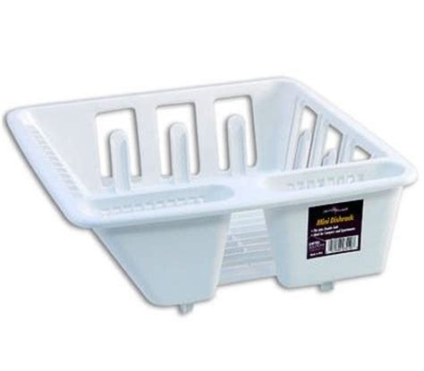 small space saver white sink dish rack drainer 13 inch x