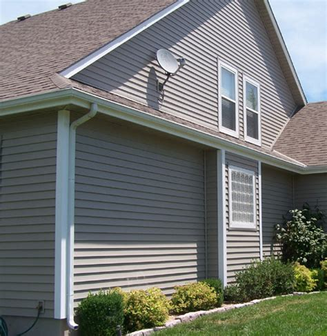 house gutters seamless guttering from continental siding supply