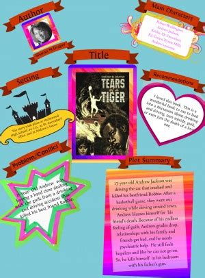 tears of a tiger book report from tears of tiger in a book quotes quotesgram