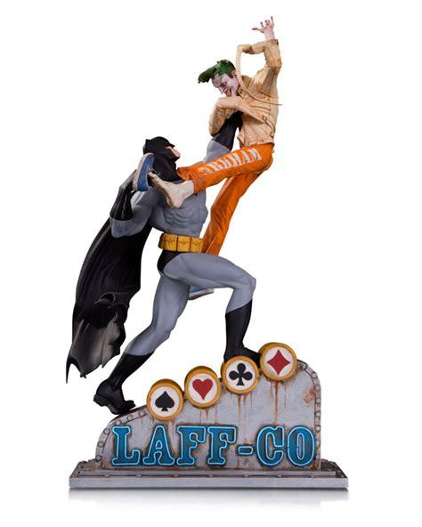 Batman Vs Joker Statue batman vs joker laff co battle resin statue