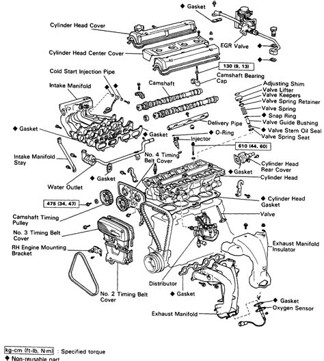 4a ge exploded view everything ae86
