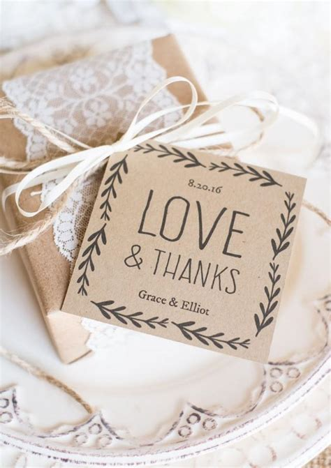 Rustic Wedding Favor Tags Printable Favor Tag Template Kraft Paper Label Download Instantly Wedding Favor Tags Template