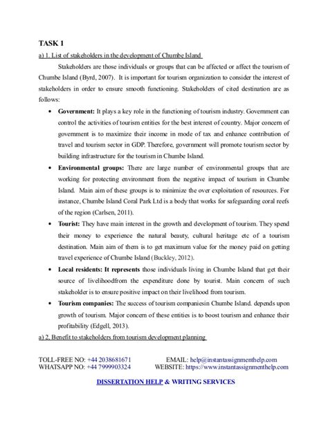 tourism dissertation exles sustainable tourism dissertation sle instant