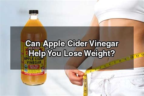 What Detoxing Can Help You Lose Weight by Does Apple Cider Vinegar Pills Help You Lose Weight
