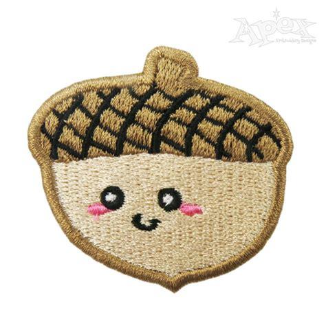 cute acorn pattern acorn nut embroidery designs cute