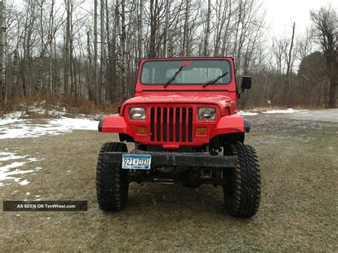 1989 Jeep Wrangler 2 5 Engine 1989 Jeep Wrangler Base Sport Utility 2 Door 2 5l