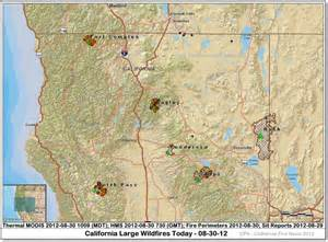 southern california fires today map cfn california news cal news 8 1 12