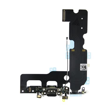 iphone   charging dock port assembly replacement black