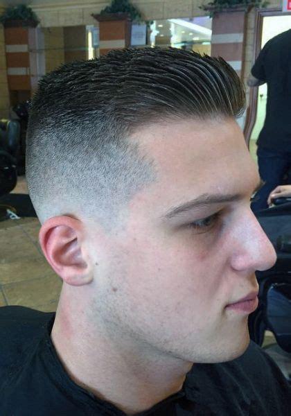 gelled comb back hipster haircut taper fade slick back barbershops pinterest taper