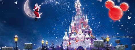 beautiful disney castle cover holidays
