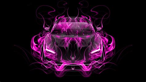 Pink K Wallpaper | lamborghini centenario frontup super fire abstract car