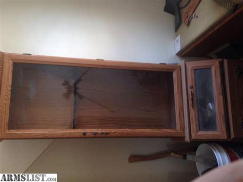 armslist for sale decorative gun cabinet