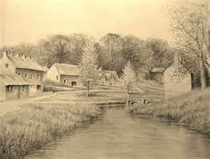 Landscape Pictures Drawing Landscape Pencil Drawing Timelapse