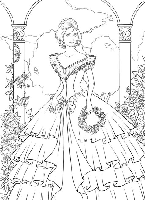 Coloring Pages Detailed Landscape Coloring Pages For Stunning Coloring Images