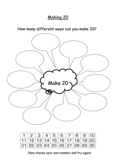 addition and number bonds to 20 by s0402433 teaching