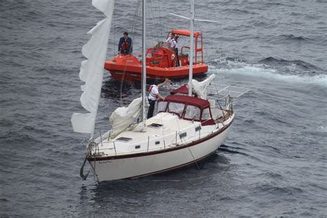 abandoned boats found at sea abandoned boats swan 48 spotted again plus another hits