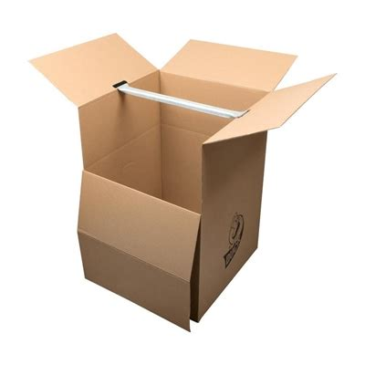 Large Wardrobe Boxes - duck x large heavy duty recycled cardboard wardrobe moving