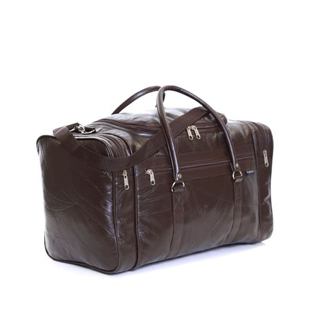 Ebay Cabin Bags by Real Leather Travel Weekender Cabin Luggage Handbag