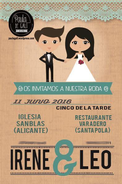 dibujos para una boda invitaciones de boda tarjeta invitacion boda novios dibujo boda personalizado