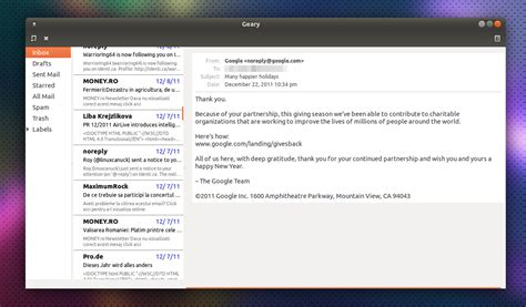 email client geary yorba working on a new lightweight email client for