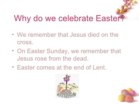 why do we celebrate ppt easter for cpchd