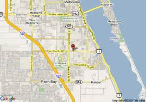 where is palm bay florida on the map florida palm bay florida map image search results