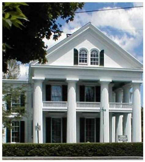 Old Southern Style House Plans greek revival 1820 1850 old house web