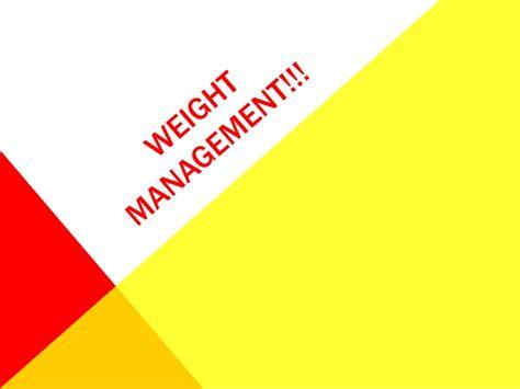 weight management quiz weight management pp