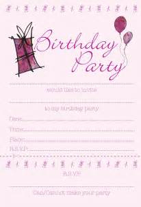 birthday free invitations 40th birthday ideas birthday invitation