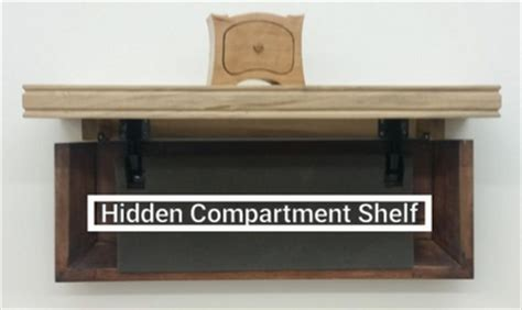 Compartment Shelf by Keep Your Secret Stash In This Diy Secret