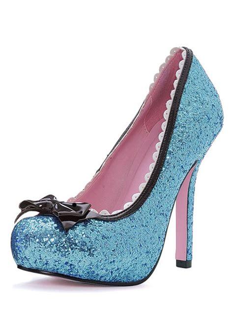 blue sparkly high heels blue glitter high heels