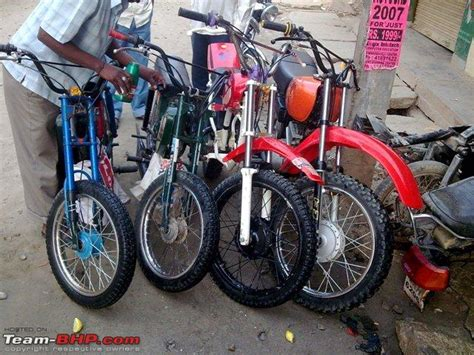 Bike Modification Garage In Bangalore by My Rx135 Team Bhp