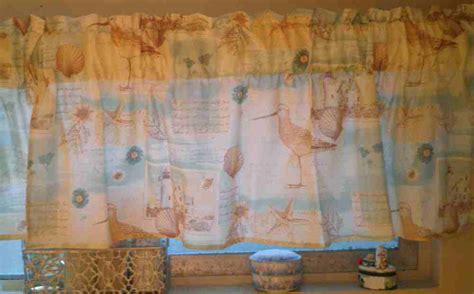 beach themed curtains and valances beach fabric valances