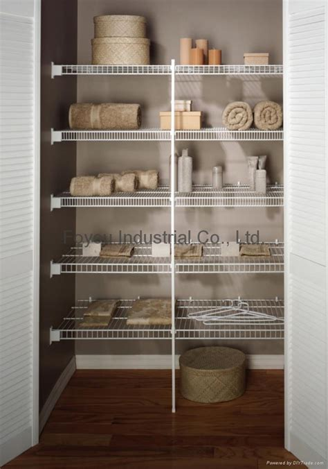 Wire Closet Shelving Manufacturers by Wire Closet Shelving Cheap Attachment With Wire Closet
