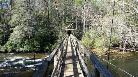 toccoa river swinging bridge toccoa river swinging bridge picture of toccoa river