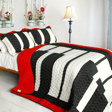 black white and red bedding music piano keyboard red black white bedding full queen