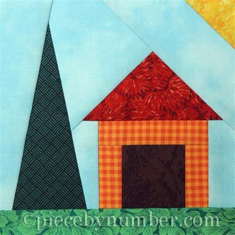 pattern of house 5 free paper piecing patterns for beginners on craftsy