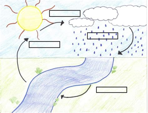diagram of water cycle for water cycle diagram diagram site