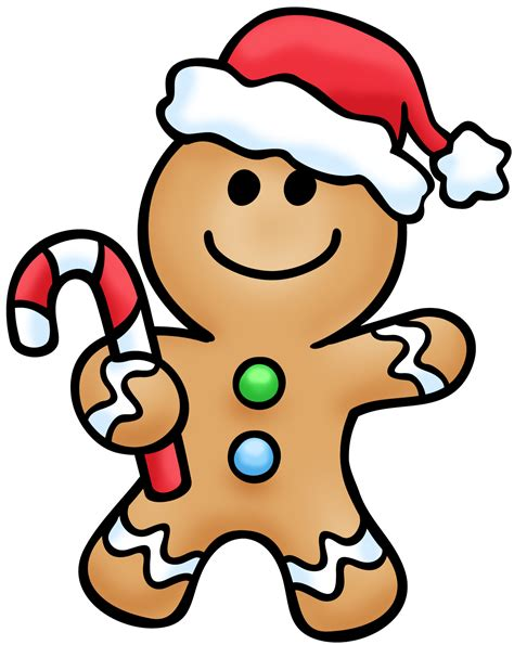 gingerbread clip free free clipart images