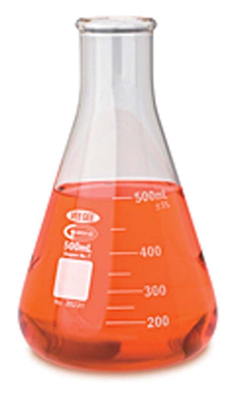 Labu Erlenmeyer 500ml vee gee scientific glass erlenmeyer flasks medsupply partners