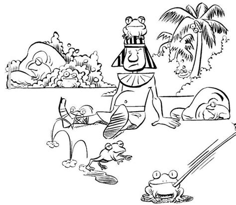 plague of frogs coloring page 142 best images about bible ot the ten plagues of egypt