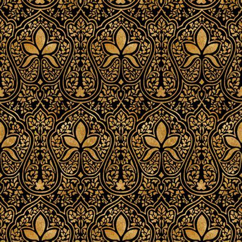 wallpaper batik papua rajkumari black and gilt gold batik fabric