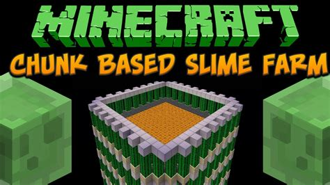 slime farm tutorial skyblock minecraft chunk based slime farm tutorial youtube
