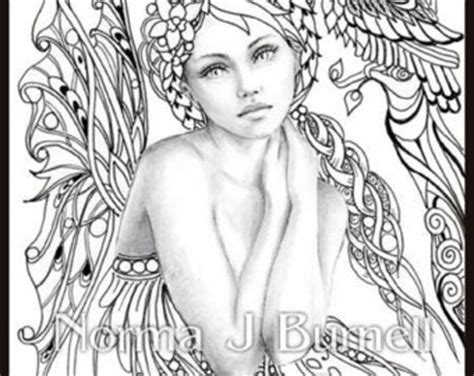 intricate fantasy coloring pages autumn s dreamer fairy tangles coloring sheet fairies