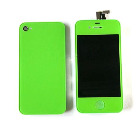New Iphone 4 4s Cdma Lcd Touchscreen Frame Original 100 new green apple iphone 4 cdma lcd touch screen glass digitizer w back